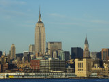 The Empire State Building and Midtown Manhattan Skyline Across the Hudson River, New York City Photographic Print by Amanda Hall