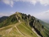 Summit of Puy De Sancy, Puy De Dome, Park Naturel Regional Des Volcans d'Auvergne, France Photographic Print by David Hughes