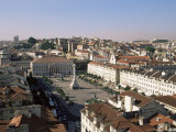 Rossio Square (Dom Pedro Iv Square), Lisbon, Portugal, Europe Photographic Print by Yadid Levy