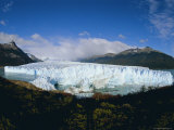 Perito Moreno Glacier, Has Almost Dammed the Tempano Channel, Patagonia, Argentina Photographic Print by Louise Murray