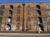 Derelict Warehouses in the Dumbo Neighbourhood of Brooklyn, New York City Photographic Print by Amanda Hall