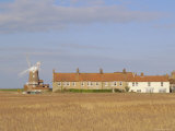 Reedbeds and Cley Windmill, Norfolk, England Photographic Print by Pearl Bucknell