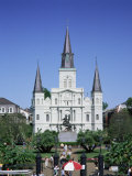 St. Louis Christian Cathedral in Jackson Square, French Quarter, New Orleans, Louisiana, USA Photographic Print by Gavin Hellier