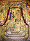 Murals in the Inner Sanctuary of the Christian Church of Ura Kedane Meheriet, Ethiopia Fotografie-Druck von Gavin Hellier