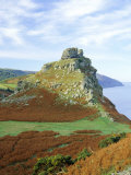 Castle Rock Overlooking Wringcliff Bay, Devon, England Photographic Print by Pearl Bucknell