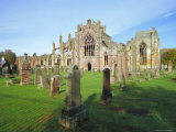 12th Century Melrose Abbey, Scotland Photographic Print by Pearl Bucknell