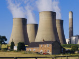 Cooling Towers, Nottinghamshire, England Photographic Print by Anthony Waltham