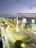 Plaza De La Republica, Buenos Aires, Argentina Photographic Print by Gavin Hellier