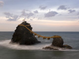 Meoto-Iwa (Wedded Rocks), Central Honshu, Japan Photographic Print by Gavin Hellier