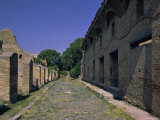 Warehouses, Via Dei Molini, Ostia Antica, Lazio, Italy, Europe Photographic Print by Christina Gascoigne