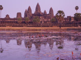 Angkor Wat, Angkor, Unesco World Heritage Site, Siem Reap, Cambodia, Indochina, Southeast Asia Asia Photographic Print by Jochen Schlenker