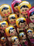 Babushka Dolls, Riga, Latvia, Baltic States, Europe Photographic Print by Yadid Levy