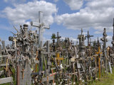 Hill of Crosses, Near Siauliai, Lithuania, Baltic States, Europe Photographic Print by Gary Cook