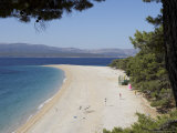 The Famous Beach Zlatni Rat in Bol, Brac, Croatia Photographic Print by Joern Simensen