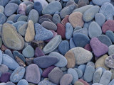 Pebbles at St. Mary Lake, Glacier National Park, Montana, United States of America, North America Photographic Print by James Hager