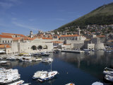 The Harbour in Dubrovnik, Croatia Photographic Print by Joern Simensen