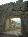 Lion Gate, Mycenae, Unesco World Heritage Site, Greece, Europe Photographic Print by Christina Gascoigne