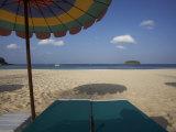 Wiew from a Sunbed, Kata Beach, Phuket, Thailand Photographic Print by Joern Simensen