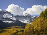 Sneffels Range with Fall Colors, Near Ouray, Colorado, United States of America, North America Photographic Print by James Hager
