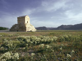 Tomb of Cyrus the Great, Passargadae (Pasargadae), Iran, Middle East Photographic Print by Christina Gascoigne