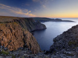Sunset Over Nordkapp, North Cape, Mageroya Mahkaravju Island, Norway Photographic Print by Gary Cook