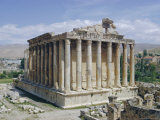 Temple of Bacchus, Baalbek, Lebanon, Middle East Photographic Print by Christina Gascoigne