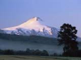 Villarrica Volcano, Villarrica National Park, Pucon, Chile, South America Photographic Print by Jochen Schlenker