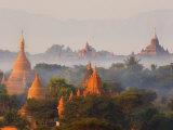 Bagan (Pagan), Myanmar (Burma), Asia Fotografisk tryk af Jochen Schlenker