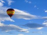 Hot Air Balloon, Christchurch, Canterbury, South Island, New Zealand, Pacific Photographic Print by Jochen Schlenker