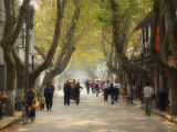 Street Scene, Souzhou (Suzhou), China, Asia Photographic Print by Jochen Schlenker