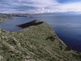 Landscape, Isla Del Sol, Lago Titicaca (Lake Titicaca), Bolivia, South America Photographic Print by Colin Brynn