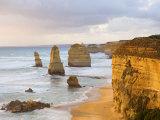 The Twelve Apostles, Port Campbell National Park, Great Ocean Road, Victoria, Australia, Pacific Fotografisk tryk af Jochen Schlenker