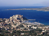 Citadel and Calvi, Corsica, France, Mediterranean, Europe Photographic Print by Yadid Levy