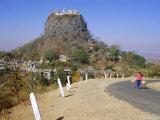 Mount Popa, Myanmar (Burma), Asia Photographic Print by Christina Gascoigne