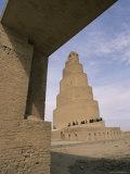 Al Malwuaiya Tower (Malwiya Tower) (Minaret), Samarra, Iraq, Middle East Photographic Print by Nico Tondini