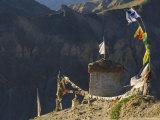 Lamayuru Gompa (Monastery), Lamayuru, Ladakh, Indian Himalayas, India, Asia Photographic Print by Jochen Schlenker