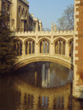 The Bridge of Sighs, St. John's College, Cambridge, Cambridgeshire, England, UK Photographic Print by Christina Gascoigne