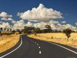 Road, Near Armidale, New South Wales, Australia, Pacific Fotografisk tryk af Jochen Schlenker