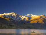Sunrise, Lake Hayes, Queenstown, Central Otago, South Island, New Zealand, Pacific Photographic Print by Jochen Schlenker