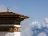 Druk Wangyal Chorten, Bhutan, Asia Photographic Print by Angelo Cavalli