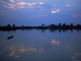 Mekong River and 4000 Islands, Laos, Indochina, Southeast Asia, Asia Photographic Print by Colin Brynn