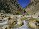 River in the Khyber Pass, Afghanistan Photographic Print by Christina Gascoigne