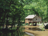 Restored Mill Near Riley in Monroe County, Southern Alabama, USA Photographic Print by Robert Francis