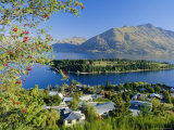 Queenstown, Lake Wakatipu, Otago, South Island, New Zealand, Australasia Photographic Print by Robert Francis