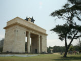 Independence Arch, Accra, Ghana, West Africa, Africa Photographic Print by Ali Mobasser