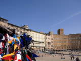 Piazza Del Campo, Siena, Unesco World Heritage Site, Tuscany, Italy, Europe Photographic Print by Angelo Cavalli