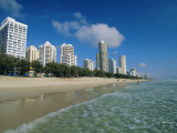 Surfers Paradise Beach, Gold Coast, Queensland, Australia Photographic Print by Robert Francis