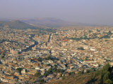 Overlooking Zacatecas, Zacatecas State, Mexico, Central America Photographic Print by Robert Francis