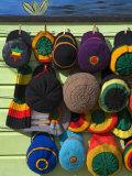Craft Market, Montego Bay, Jamaica, West Indies, Caribbean, Central America Reprodukcja zdjęcia autor Richard Cummins