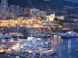 Monte Carlo, Monaco, Cote d'Azur, Mediterranean, Europe Photographic Print by Angelo Cavalli